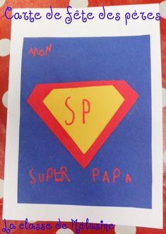 une carte super facile pour un SUPER PAPA!