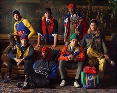 Jegor Venned Hugh Laughton-Scott Max Snippe Oliver Kumbi Hamid Onifade Nate Hill and Pat Schmidt front POLO Ralph Lauren's fall-winter 2018 campaign. Moda Preppy, Preppy Boys, Preppy Style, Polo Sport, Men's Polo, Preppy Handbook, Polo Ralph Lauren Kids, Ivy Style, The Fashionisto
