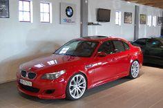 red E60 M5