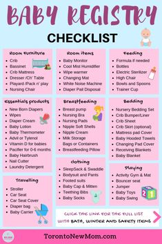 Apr 2019 - The Ultimate Baby Registry Checklist for Canadian Moms. Everything you would need for Baby's First Year - From Newborn to One-Year-Old Baby Registry Essentials, Baby Registry Checklist, Newborn Essentials, Baby Checklist Newborn, New Baby Checklist, List Of Baby Essentials, Baby Shower Registry, Pregnancy Checklist, Baby Shower Checklist