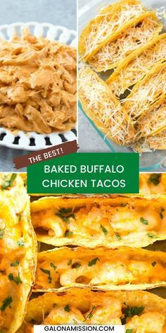 Baked Tacos, Baked Chicken Tacos, Chicken Taco Recipes, Shredded Chicken Recipes, Oven Roasted Chicken, Mexican Food Recipes, Chicken Meals, Quick Dinner Recipes, Appetizer Recipes