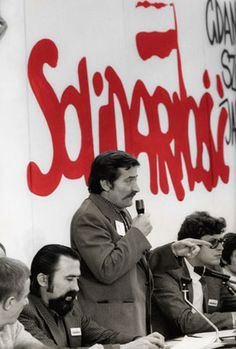 Lech Walesa, anti-communist leader of Solidarity in Poland, supported by Polish Pope John Paul II, served as President of Poland from via Kin Cho