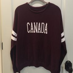 NWOT Brandy Melville sweater Never worn, it's just been sitting in my closet! Brandy Melville Sweaters