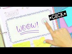 ORGANIZADOR TOUCH DIY Cuadernos y Carpeta - Regreso a Clases ✄ Craftingeek - YouTube
