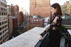 Fashion designer and style blogger Catherine Smith's stylish staycation takeover of @ThompsonHotels Instagram. #NYC #Tribeca