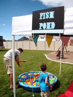 """Circus party games Photo 11 of 38: Circus / Birthday """"CoOper's BiG ToP"""" 