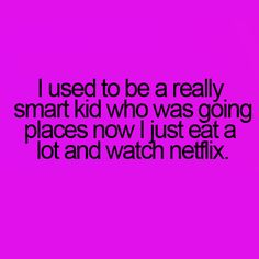 And I rather enjoy it!;)