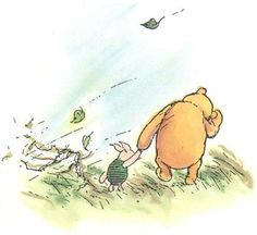 winnie the pooh.......blustery day