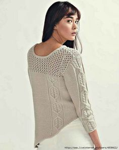 Ravelry: Iclyn Sweater pattern by Anna Harris Knitting Websites, Knitting Blogs, Sweater Knitting Patterns, Crochet Cardigan, Knitting Designs, Knit Patterns, Knit Crochet, Warm Dresses, Fashion Sewing