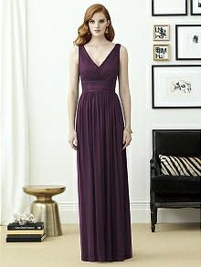 Dessy Collection Style 2955 - Aubergine Silver | The Dessy Group