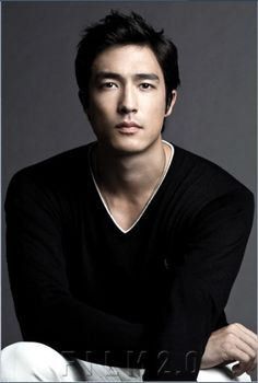 Daniel Henney His hair is up on one side and kind of down on another. That's unique!