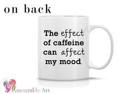 Coffee Mug Ceramic Mug Typography Mug Grammar Mug door AmourableArt