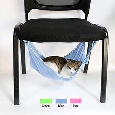 blød mesh hængekøje til kæledyr hunde (assorterede farver og størrelser) – DKK kr. 81