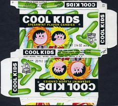 Just Born - Cool Kids - no offer - candy box - 1970's by JasonLiebig, via Flickr