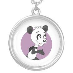 Cute cartoon panda custom jewelry