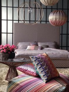 Missoni Home Milano ShowRoom ideas for your room.... Collection 2015