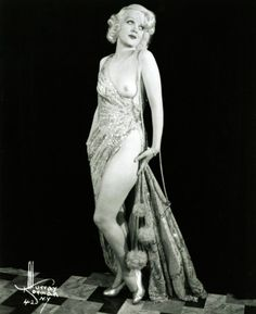 A pre-code Hollywood portrait of actress Marion Martin, 1930s