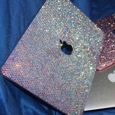 Rhinestone case for Mac air MacBook Pro retina rose gold MacBook available bling ✨sparkly✨