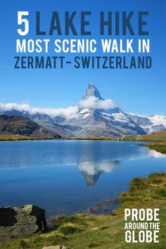 Hike in Zermatt Switzerland Scenic Classic Hike in Zermatt Switzerland. How to arrange it yourself and what to expect? Find the answers hereScenic Classic Hike in Zermatt Switzerland. Switzerland Summer, Switzerland Vacation, Visit Switzerland, Hiking Routes, Hiking Europe, Hiking Trails, Adventure Time, Adventure Travel, Zermatt