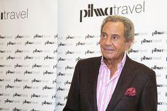 El actor Arturo Fernandez en la inauguración de Pilma Travel de Madrid.
