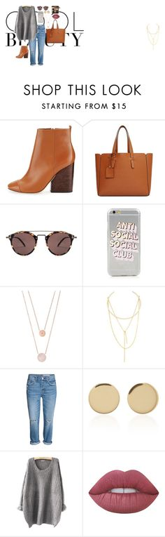 """""""Cool Beauty"""" by lisa-reis-1 on Polyvore featuring Tory Burch, Violeta by Mango, Oliver Peoples, Michael Kors, Jules Smith, Magdalena Frackowiak, Lime Crime and Bobbi Brown Cosmetics"""