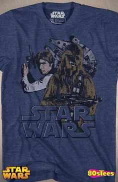 Ok, this shirt is awesome, but you can't have a Star Wars shirt without Luke Skywalker on it.