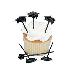 72 pc Graduation Cupcake or Appetizer Picks Fun Express http://www.amazon.com/dp/B0016KTNF6/ref=cm_sw_r_pi_dp_EaRZtb0BCKAE34KB