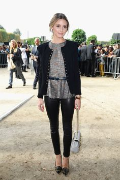 See All the Stars at Paris Fashion Week: Iggy Azalea turned up at the Vivienne Westwood runway show. : Olivia Palermo made an appearance at the Elie Saab show.