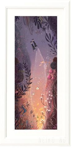 Diving with best friends  Large Print  illustration di PaperPlants, $40.00