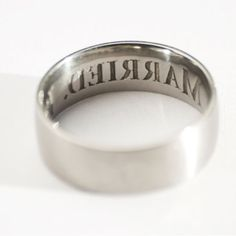 I'm Married Anti-Cheating Ring - Seriously? Well...I suppose if you need to buy this ring, you shouldn't get hitched...