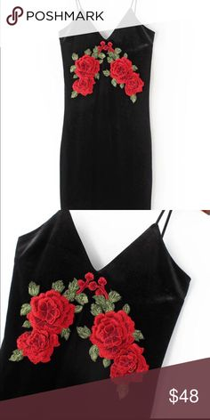 NWT Velvet rose bodycon dress New with tags Dresses Mini