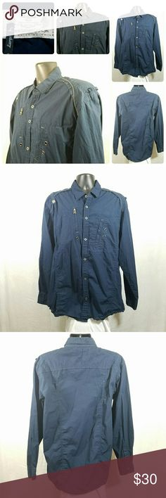 Brooklyn Basement Co. Button Up Urban Shirt Sz L Brooklyn Basement Co. Button Up Urban Shirt Sz L Excellent Pre-Owned Condition No rips stains or tears Brooklyn Basement Co. Shirts Casual Button Down Shirts