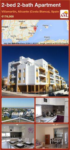 2-bed 2-bath Apartment in Villamartin, Alicante (Costa Blanca), Spain ►€178,000 #PropertyForSaleInSpain