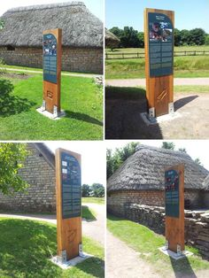 A Medieval Village Time Log -Cosmeston Medieval Village by Glyn Parry-Jones, via Behance