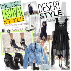 I Love Music Festival Style on Polyvore