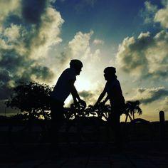 Sunset en Miramar,P.R.