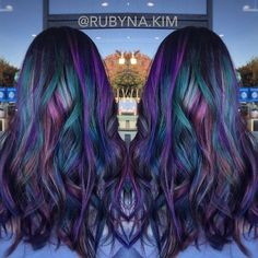 Image result for oil slick hair color