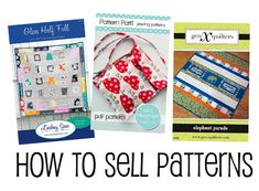 How to Sell Patterns