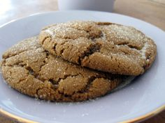 THE BEST Chewy Molasses Cookies ever - just like mom makes them!