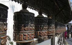 mulini di preghiera (Swayambhunath, Nepal)