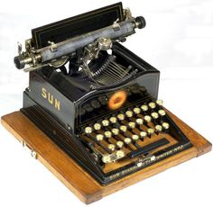Sun Standard 2   The Sun Typewriter Co., New York, N.Y.  1901 - serial no.18040