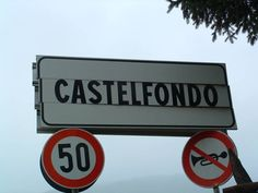 Village of Castelfondo - Photographs
