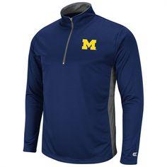 Michigan Wolverines Bullseye 1/4 Zip Long Sleeve Tee Long Sleeve Tee Shirts, Shirt Sleeves, T Shirt, Huge Sale, Zip, Michigan Wolverines, Sports, Mississippi, Clothes