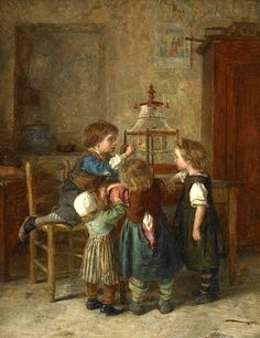 Pierre Edouard Frère (1819 – 1886, French)