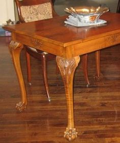 Antique Mahogany Table Vintage Furniture On Kijiji Montreal