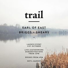 The EARL OF EAST x BRIGGS + SHEARS collaboration 'trail' is launched next Saturday at Netil Market. Come by and check it out. Live demonstrations from 12.00pm @earlofeastlondon @briggsandshears #handcrafted #eastlondon #leathergoods #leathercraft #collection #collaborate #collaboration #launch #london #netilmarket