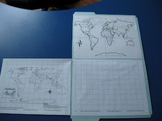 Sola Gratia Mom: Map Drawing - Next Phase - Outline Map