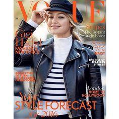 Gigi Hadid for Vogue Magazine January issue