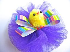 Baby chic Easter hair bow