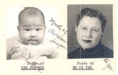 Bruce's mother Grace Ho Bruce Lee | Bruce Lee's NARA file available online! | Hoisan roots